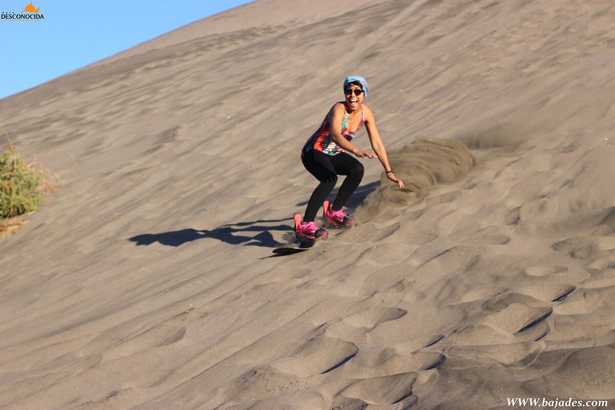 Sandboarding Mogote
